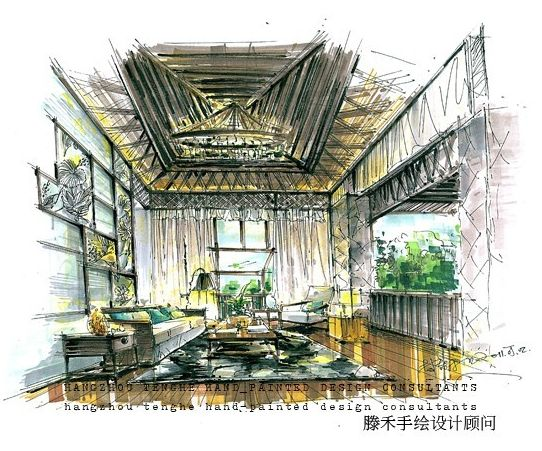 杭州滕禾手绘设计培训机构